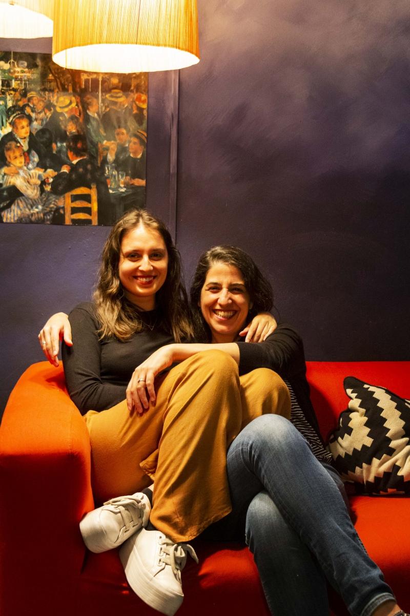Mariana Lois e Ana João
