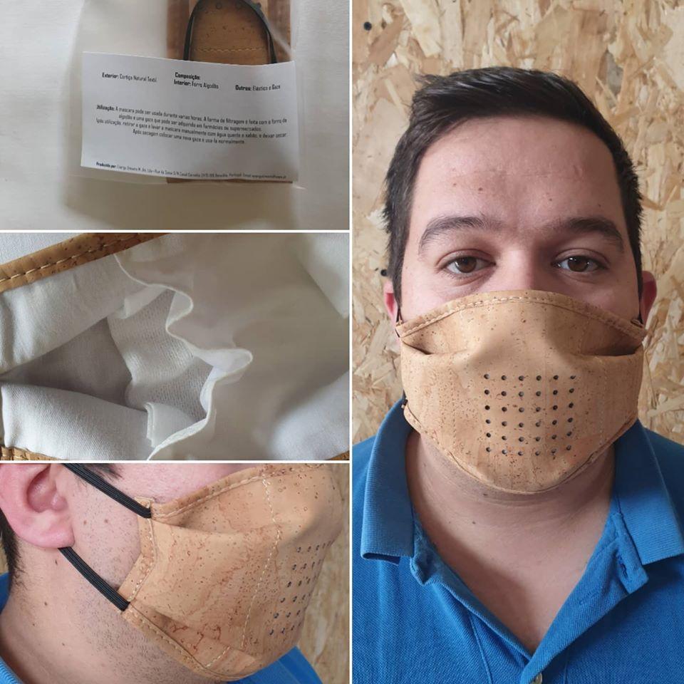 Máscaras de cortiça da Montlusa