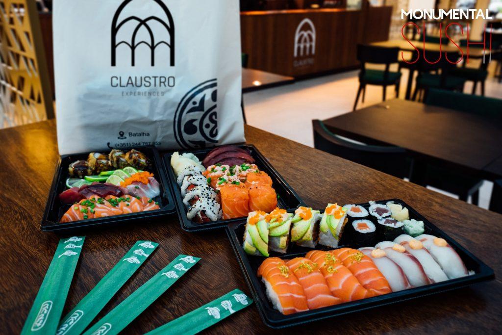 sushi batalha claustro experiences