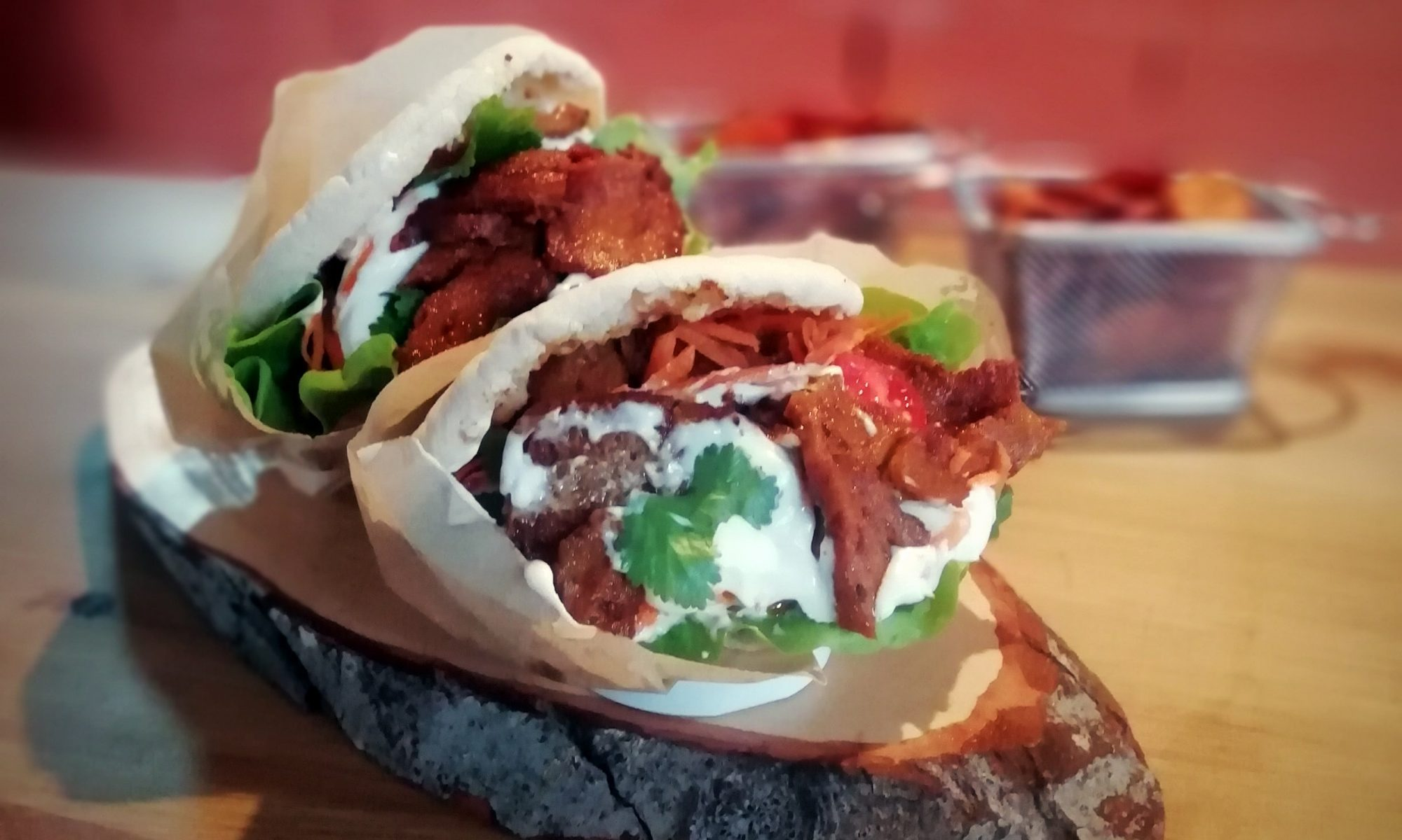 receita kebab irmãovegan