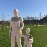 escultura futuro leiria